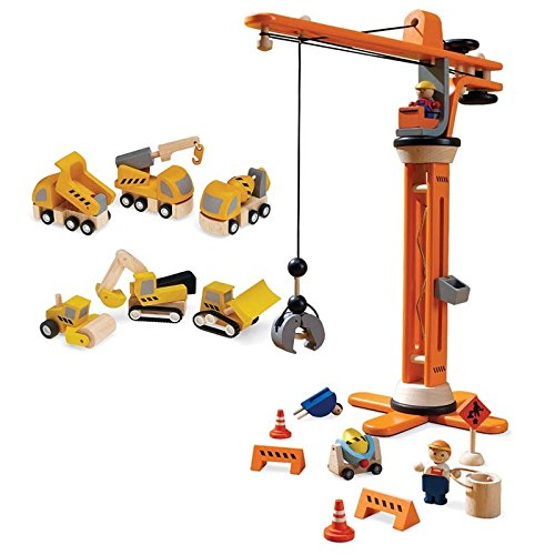 Plan Toys Crane (PlanToys Plan City Construction Special with Crane Set and Construction)