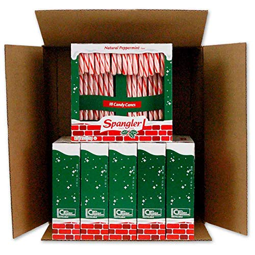 Peppermint Candy Canes 6-18 count boxes