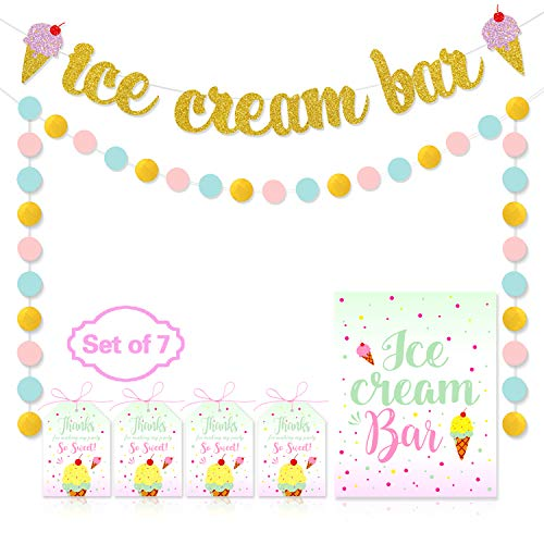 ice cream party decor - 4