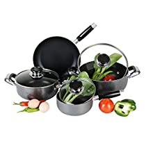 HDS TRADING cs00301 7 Piece Cookware Set