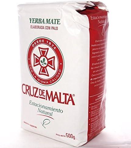 Cruz de Malta 1/2 kilo Yerba Mate by Yerba Mate té: Amazon.es: Hogar