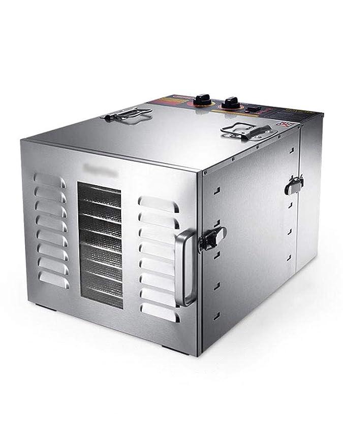 Deshidratador Eléctrico de Alimentos, Secadora de Frutas - Uso Doméstico / Tienda, Temporización Programable, Temperatura Personalizable, Gran Capacidad, ...