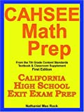 Cahsee Math Prep from the 7th Grade Cont, Nathaniel Rock, 1599800268