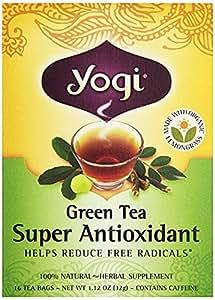 Yogi Organic Super Antioxidant Green Tea, 16 ct
