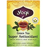 Yogi Teas Super Anti-Oxidant Green Tea - 16 - Bag