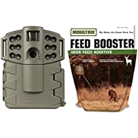Moultrie Game Spy A-5 Gen2 Infrared Game Camera + Feed Booster Deer Additive