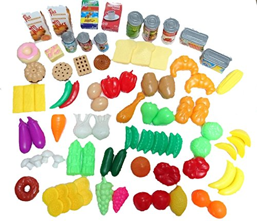 NF581-31 Playing house vegetables ingredients Miniature Large-volume set Funny food