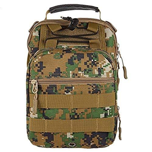 Messenger Sling Handbags Shoulder Moontang Bag Chest color Men Outdoors Size Pack 4IpYqO