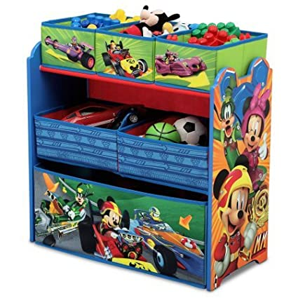 Disney Multi Bin Toy Organizer Mickey Mouse