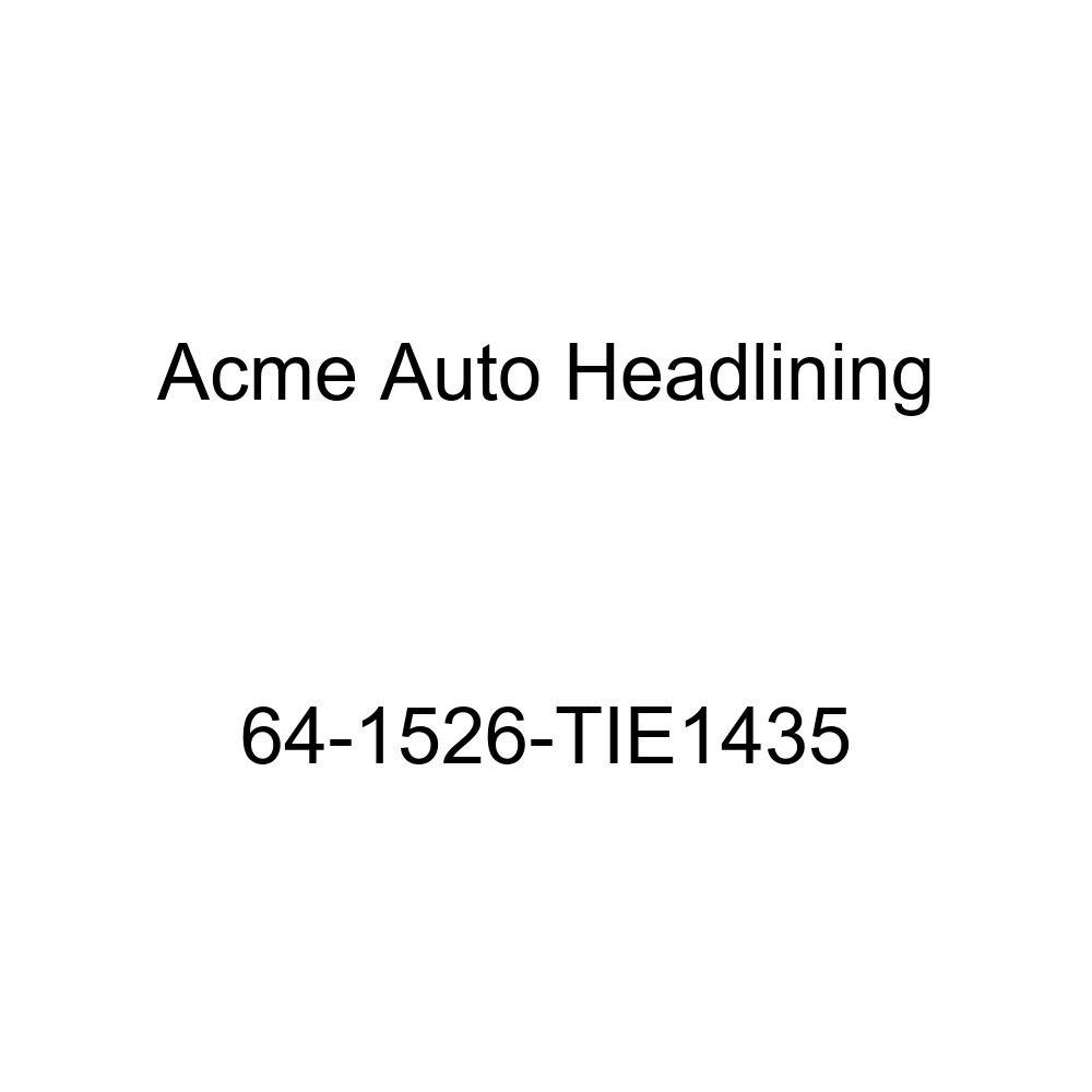 Pontiac Tempest 4 Door Sedan 5 Bow Acme Auto Headlining 64-1526-TIE1435 Tan Replacement Headliner