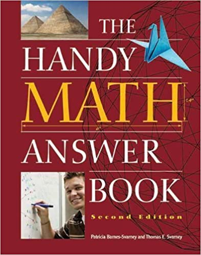 Book The Handy Math Answer Book (The Handy Answer Book Series) by Patricia Barnes-Svarney (2012-05-01)