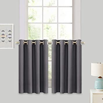 Amazoncom Ryb Home Decor Window Treatment Tier Curtains For