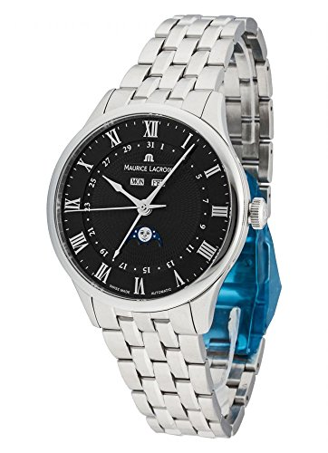 Maurice Lacroix Masterpiece Tradition Phase de Lune Men's Automatic Watch - MP6607-SS002-310