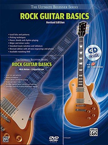 Ultimate Beginner Rock Guitar Basics Mega Pak: Book, CD & DVD (The Ultimate Beginner Series) (Ultimate Beginner Series Rock)
