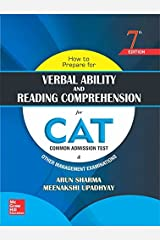 How to Prepare for Verbal Ability and Reading Comprehension for CAT (Old Edition) Paperback