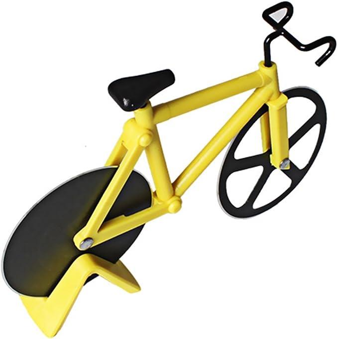 Glow Castle - Cuchillo de acero inoxidable con forma de bicicleta ...