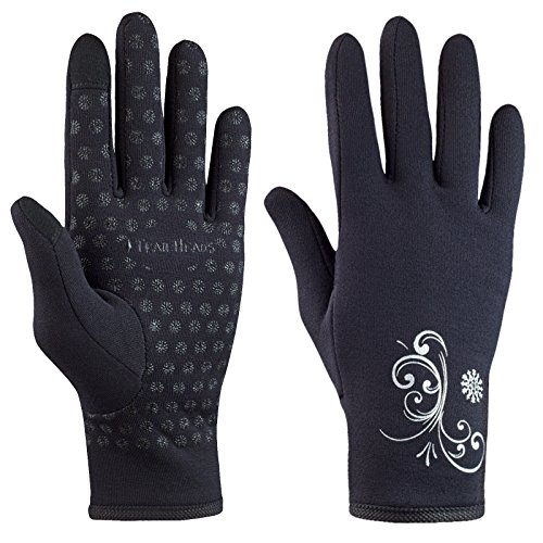 TrailHeads Women's Power Stretch Touchscreen Running Gloves...