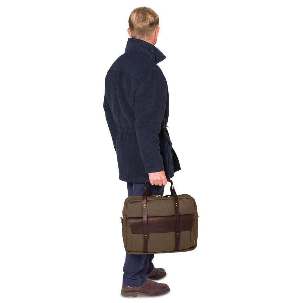 Chapman Wye Briefcase One Size Black Canvas