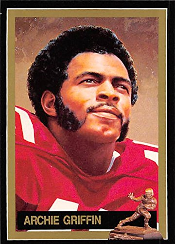Archie Griffin Football Card (Ohio State Buckeyes, Heisman Trophy 1974) 1991 DAC of NY #40