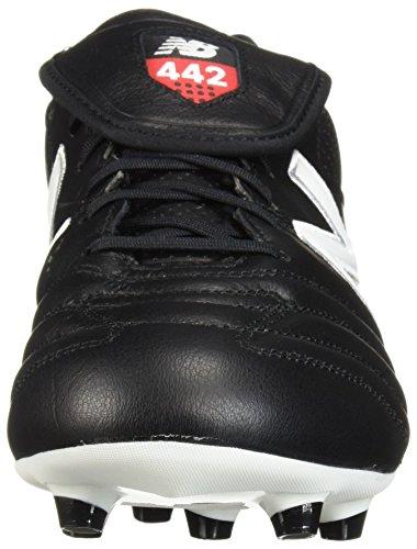 442 Fg wit New Zwart voetbalschoenen blanc Noir Pro Balance z5Yqt