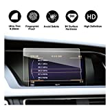 2010-2016 Audi Q5 SQ5 A4 A5 S4 S5 MMI Screen Car Navigation Protective Film, RUIYA Clear Tempered Glass HD and Protect your Eyes (7-Inch)