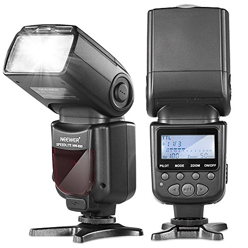 Neewer NW690 I-TTL Slave Camera Flash with Wireless Remote Slave Function Advanced Wireless Lighting for Nikon D3 D3X D4 D4S D90 D300 D300S D600 D610 D700 D800 D800E D3000 D3100 D3200 D3300 D5000 D5100 D5200 D5300 D7000 D7100