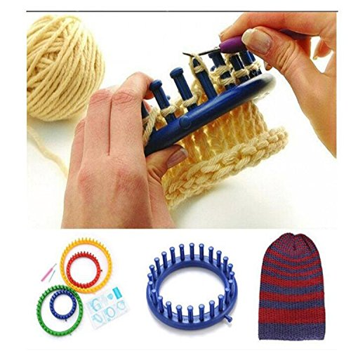 Knitting Items In Dubai : Round knitting looms efly set of different diy crochet