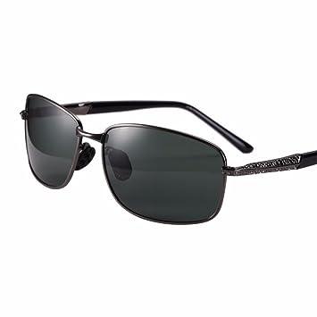 TYJshop Gafas De Sol Hombres Y Mujeres HD Conducción Gafas Polarizadas,Color De La Pistola: Amazon.es: Deportes y aire libre