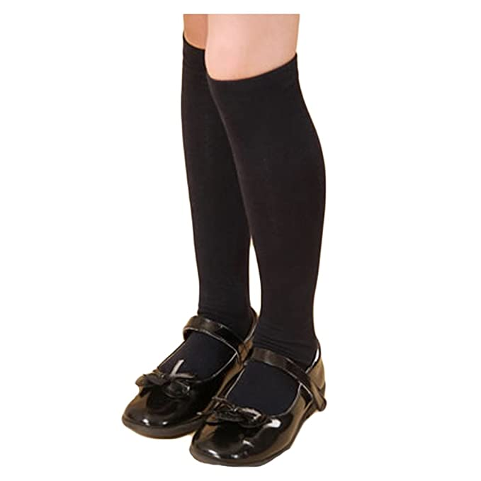 Amazon.com: saymequeen las niñas algodón over-knee ...