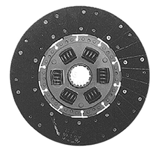 "W161153 11"" Single Stage Clutch Disc For Oliver 88 Super 88 770 880 1550 -  AGmonkey"