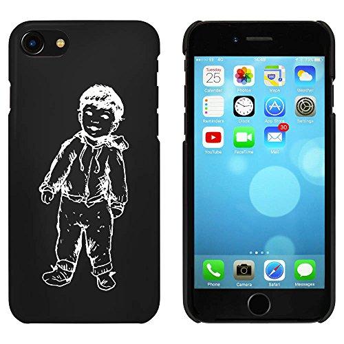 Noir 'Garçon' étui / housse pour iPhone 7 (MC00062065)