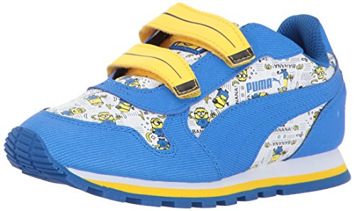 898badd4d42126 PUMA Minions ST Runner V Kids Sneaker
