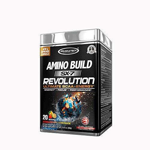 Volumizer Muscle Cell (MuscleTech Amino Build SX-7 Revolution - Strawberry Lemonade)