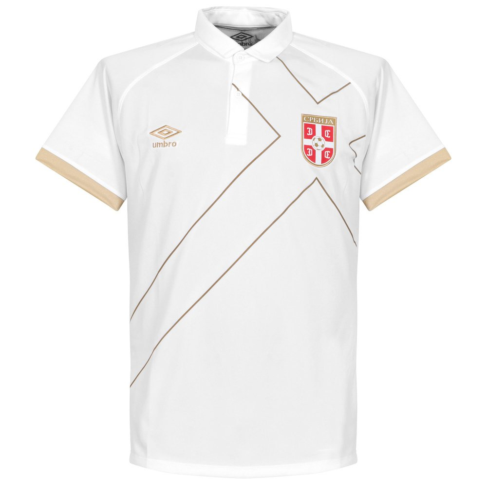 2015-2016 Serbia Away Umbro Football Shirt: Amazon.es: Deportes y ...
