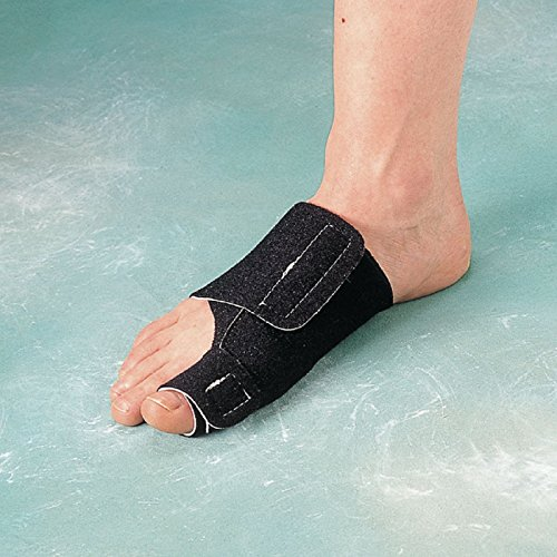 Rolyan Bunion Splint for Right Foot, Fixed Position Brace for Big Toe and Bunion Relief, Slip Resistant Splint for Recovery and Rehabilitation After Bunionectomy, Soft Foam Toe Alignment Support Brace by Rolyan (Image #2)