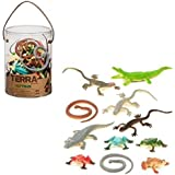 Battat Terra Reptiles in Tube Playset