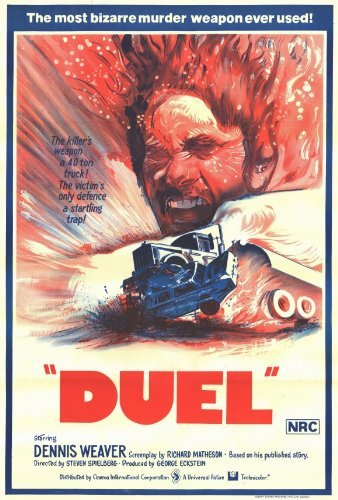 Duel POSTER Movie (27 x 40 Inches - 69cm x 102cm) (1971) (1971 Poster Print)