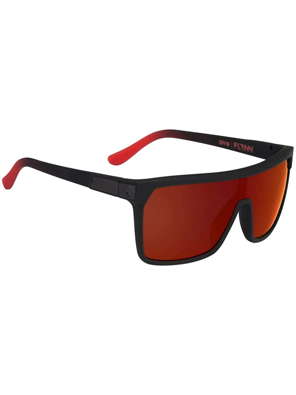 【在庫一掃】 New Men GREEN Sunglasses Spy Flash FLYNN BLACK Fade/MATTE BLACK - HAPPY GRAY GREEN B077GZMPXZ Soft Matte Black/Red Fade - Happy Gray Green W/Red Flash, sputnik jewelry:fe0cbc9b --- ballyshannonshow.com
