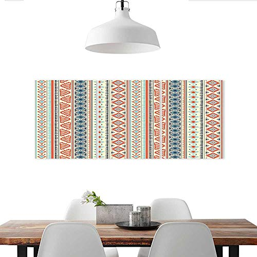 Auraise-home Customize Wall Stickers Tribal Ethnic Seamless Triple Art Stickers (Tribal Tree Triple)