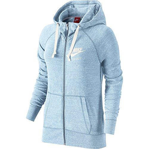 - Nike Womens Swoosh Vintage Gym Hoodie, Xs, Blue