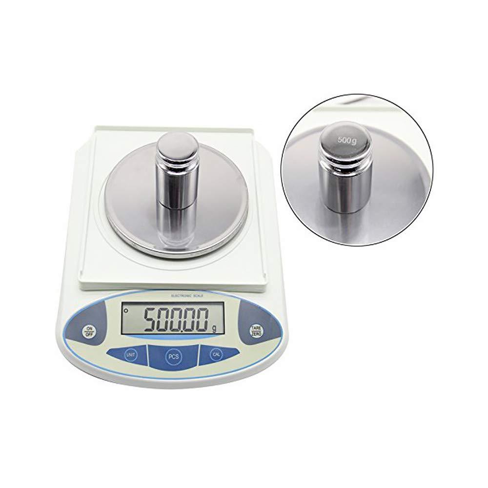 500g Bilancia da laboratorio ad alta precisione Bilancia da laboratorio elettronica analitica digitale Bilancia da cucina Bilancia da cucina elettronica 0,01 g