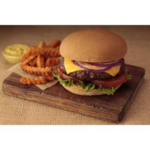 Smart Flour Gluten Free Ancient Grains Hamburger Bun, 4 inch - 24 per case. - Whole Wheat Hamburger Buns