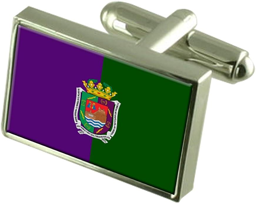 Select Gifts Málaga Ciudad Bandera España Cuadro Grabado Gemelos: Amazon.es: Joyería