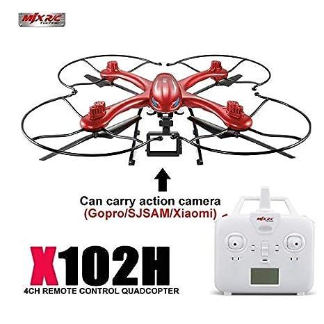 MODELTRONIC Nuevo Dron Radio Control MJX X102H con Sistema de ...
