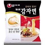 カムジャ麺(ジャガイモラーメン) 117g X20個入■韓国食品■冷麺/春雨/ラーメン■農心