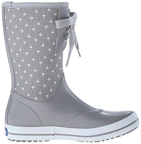 Rainboot Keds Raindrop Umbrella Grey Women's Pattern RwIwxqZp