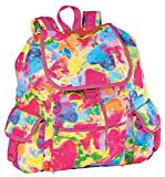 iscream Sweet Valentine Girls' 'Tie-Dye Hearts' Deluxe Backpack