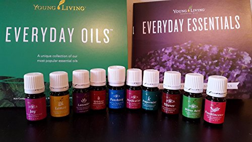 Young Living Everyday Oils Collection   10 Oils 5Ml