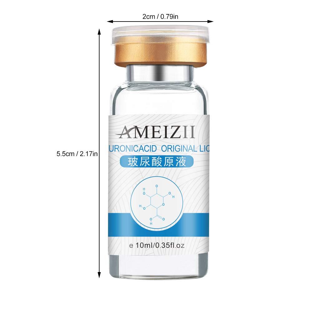 AMEIZII 10ml Hyaluronic Acid Serum Serum Moisturizer For Skin Color Brightening Essence Liquid by Anself (Image #5)