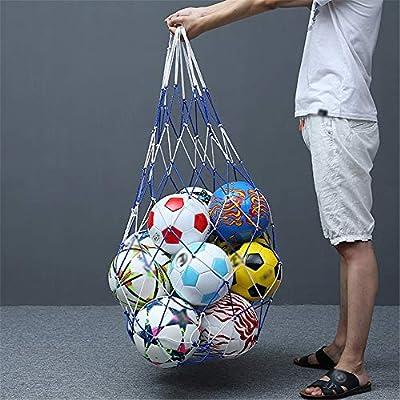 Llevar Pelota de almacenamiento Saco Cuerda 10 pelotas de fútbol ...
